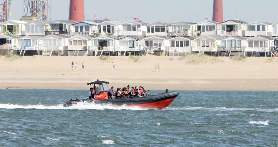 Ijmuiden Aan Zee Texel Recreatiekrant Noord Holland Augustus